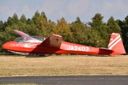 とびたさんが、久住滑空場で撮影した日本学生航空連盟 ASK 13の航空フォト(飛行機 写真・画像)