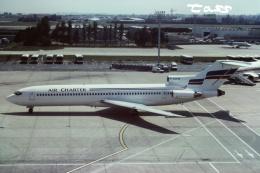 tassさんが、パリ オルリー空港で撮影したエア・チャーター 727-2X3/Advの航空フォト(飛行機 写真・画像)