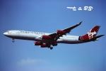 tassさんが、成田国際空港で撮影したヴァージン・アトランティック航空 A340-311の航空フォト(飛行機 写真・画像)