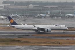 航空研究家さんが、羽田空港で撮影したルフトハンザドイツ航空 A350-941の航空フォト(飛行機 写真・画像)