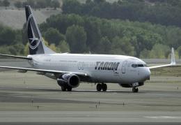 planetさんが、マドリード・バラハス国際空港で撮影したタロム航空 737-8H6の航空フォト(飛行機 写真・画像)