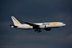 アルビレオさんが、成田国際空港で撮影したエアロ・ロジック 777-FZNの航空フォト(飛行機 写真・画像)