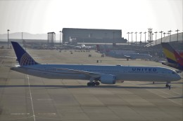 chappyさんが、関西国際空港で撮影したユナイテッド航空 787-10の航空フォト(飛行機 写真・画像)