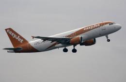 planetさんが、バルセロナ空港で撮影したイージージェット A320-214の航空フォト(飛行機 写真・画像)