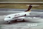 tassさんが、シンガポール・チャンギ国際空港で撮影したペリタ・エア・サービス Fokkerの航空フォト(飛行機 写真・画像)