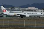 板付蒲鉾さんが、福岡空港で撮影した日本航空 767-346/ERの航空フォト(飛行機 写真・画像)