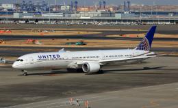 CL&CLさんが、羽田空港で撮影したユナイテッド航空 787-10の航空フォト(飛行機 写真・画像)
