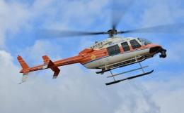 Soraya_Projectさんが、栃木ヘリポートで撮影した新日本ヘリコプター 407の航空フォト(飛行機 写真・画像)