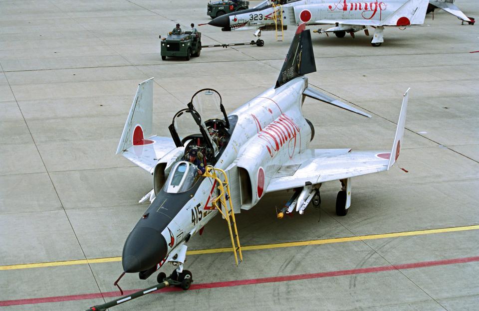 A-330さんの航空自衛隊 Mitsubishi F-4EJ Phantom II (87-8415) 航空フォト