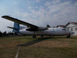 るかりおさんが、ミラノ・マルペンサ空港で撮影したミニライナー F27-500 Friendshipの航空フォト(飛行機 写真・画像)