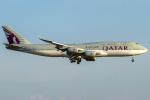 Shimejiさんが、羽田空港で撮影したカタールアミリフライト 747-8KB BBJの航空フォト(飛行機 写真・画像)