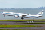 Shimejiさんが、羽田空港で撮影したクウェート政府 A340-542の航空フォト(飛行機 写真・画像)