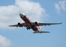 銀苺さんが、成田国際空港で撮影したインドネシア・エアアジア・エックス A330-343Xの航空フォト(飛行機 写真・画像)