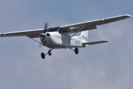 qooさんが、高松空港で撮影した学校法人ヒラタ学園 航空事業本部 172S Skyhawk SPの航空フォト(飛行機 写真・画像)