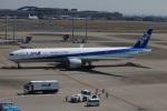 SIさんが、羽田空港で撮影した全日空 777-381/ERの航空フォト(飛行機 写真・画像)