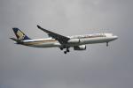 OMAさんが、シンガポール・チャンギ国際空港で撮影したシンガポール航空 A330-343Xの航空フォト(飛行機 写真・画像)