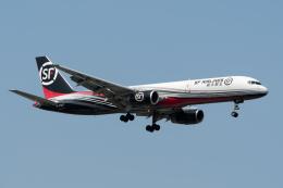 ぎんじろーさんが、台湾桃園国際空港で撮影したSF エアラインズ 757-21B(PCF)の航空フォト(飛行機 写真・画像)