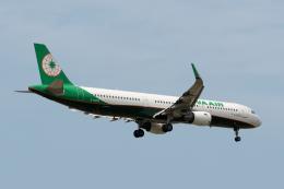 ぎんじろーさんが、台湾桃園国際空港で撮影したエバー航空 A321-211の航空フォト(飛行機 写真・画像)