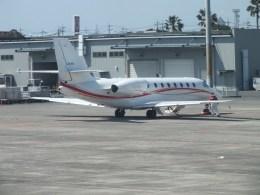 ピーノックさんが、山口宇部空港で撮影した朝日航洋 680 Citation Sovereignの航空フォト(飛行機 写真・画像)