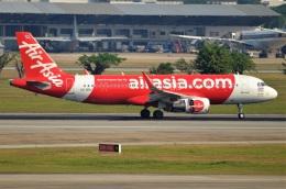 amagoさんが、ドンムアン空港で撮影したタイ・エアアジア A320-216の航空フォト(飛行機 写真・画像)