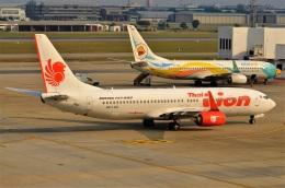 amagoさんが、ドンムアン空港で撮影したタイ・ライオン・エア 737-8GPの航空フォト(飛行機 写真・画像)