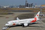 AkilaYさんが、羽田空港で撮影した日本航空 787-8 Dreamlinerの航空フォト(飛行機 写真・画像)
