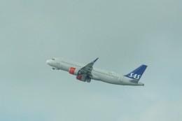 やまそらさんが、レオナルド・ダ・ヴィンチ国際空港で撮影したスカンジナビア航空 A320-251Nの航空フォト(飛行機 写真・画像)