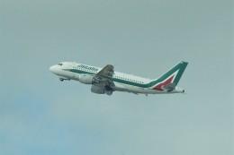 やまそらさんが、レオナルド・ダ・ヴィンチ国際空港で撮影したアリタリア航空 A319-111の航空フォト(飛行機 写真・画像)