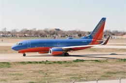 ゴンタさんが、ダラス・ラブフィールド空港で撮影したサウスウェスト航空 737-7H4の航空フォト(飛行機 写真・画像)