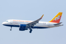 SGHGさんが、スワンナプーム国際空港で撮影したドゥルク航空 A319-115の航空フォト(飛行機 写真・画像)