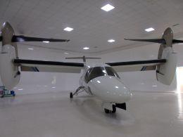 るかりおさんが、ミラノ・マルペンサ空港で撮影したアグスタウェストランド AW609の航空フォト(飛行機 写真・画像)