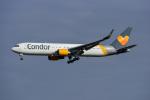 Frankspotterさんが、フランクフルト国際空港で撮影したコンドル 767-3Q8/ERの航空フォト(飛行機 写真・画像)