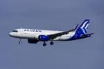 Frankspotterさんが、フランクフルト国際空港で撮影したエーゲ航空 A320-271Nの航空フォト(飛行機 写真・画像)