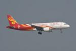 kuro2059さんが、香港国際空港で撮影した香港航空 A320-214の航空フォト(飛行機 写真・画像)