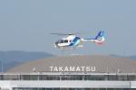 たにやん99さんが、高松空港で撮影したオールニッポンヘリコプター EC135T2の航空フォト(飛行機 写真・画像)