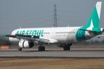たにやん99さんが、高松空港で撮影したエアソウル A321-231の航空フォト(飛行機 写真・画像)