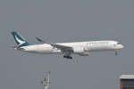 kuro2059さんが、香港国際空港で撮影したキャセイパシフィック航空 A350-941XWBの航空フォト(飛行機 写真・画像)