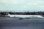 tassさんが、ロサンゼルス国際空港で撮影したアラスカ航空 MD-82 (DC-9-82)の航空フォト(飛行機 写真・画像)