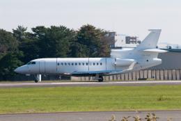 髪刈虫(かみきりむし)さんが、名古屋飛行場で撮影したアルジー・エクスプレス Falcon 7Xの航空フォト(飛行機 写真・画像)