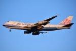 islandsさんが、成田国際空港で撮影したチャイナエアライン 747-409F/SCDの航空フォト(飛行機 写真・画像)