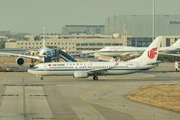delawakaさんが、北京首都国際空港で撮影した中国国際航空 737-89Lの航空フォト(飛行機 写真・画像)
