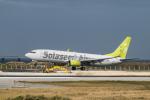 delawakaさんが、那覇空港で撮影したソラシド エア 737-86Nの航空フォト(飛行機 写真・画像)