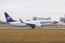 BTYUTAさんが、ヴァーツラフ・ハヴェル・プラハ国際空港で撮影したトラベル・サービス 737-9GJ/ERの航空フォト(飛行機 写真・画像)