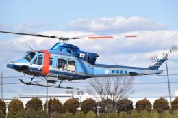 航空フォト:JA01NP 新潟県警察 412