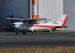 じーく。さんが、八尾空港で撮影した朝日航空 172S Skyhawk SP IIの航空フォト(飛行機 写真・画像)