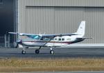 じーく。さんが、八尾空港で撮影した朝日航空 208 Caravan Iの航空フォト(飛行機 写真・画像)