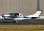 じーく。さんが、八尾空港で撮影した学校法人ヒラタ学園 航空事業本部 TU206G Turbo Stationair 6の航空フォト(飛行機 写真・画像)