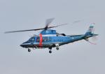 じーく。さんが、八尾空港で撮影した岡山県警察 A109E Powerの航空フォト(飛行機 写真・画像)