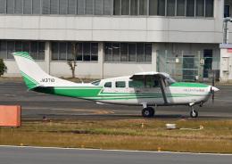 じーく。さんが、八尾空港で撮影した共立航空撮影 T207A Turbo Stationair 7の航空フォト(飛行機 写真・画像)