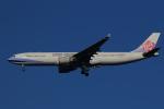 AkilaYさんが、成田国際空港で撮影したチャイナエアライン A330-302の航空フォト(飛行機 写真・画像)